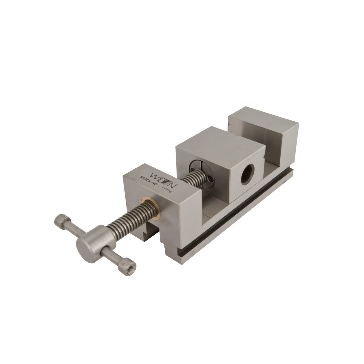 Wilton 11716 Super Precision Tool Makers Steel Vise 2-3/4-Inch Jaw Width, 1-9/16-Inch Depth