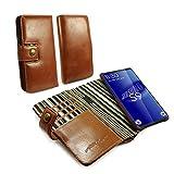 Alston Craig Genuine Vintage Leather RFID Magnetic...