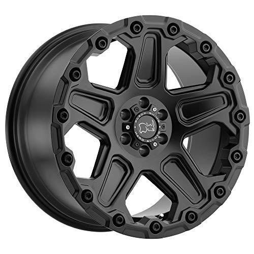 BLACK RHINO Rim Cog 18X9.5 5x5 Offset -18 Matte Black