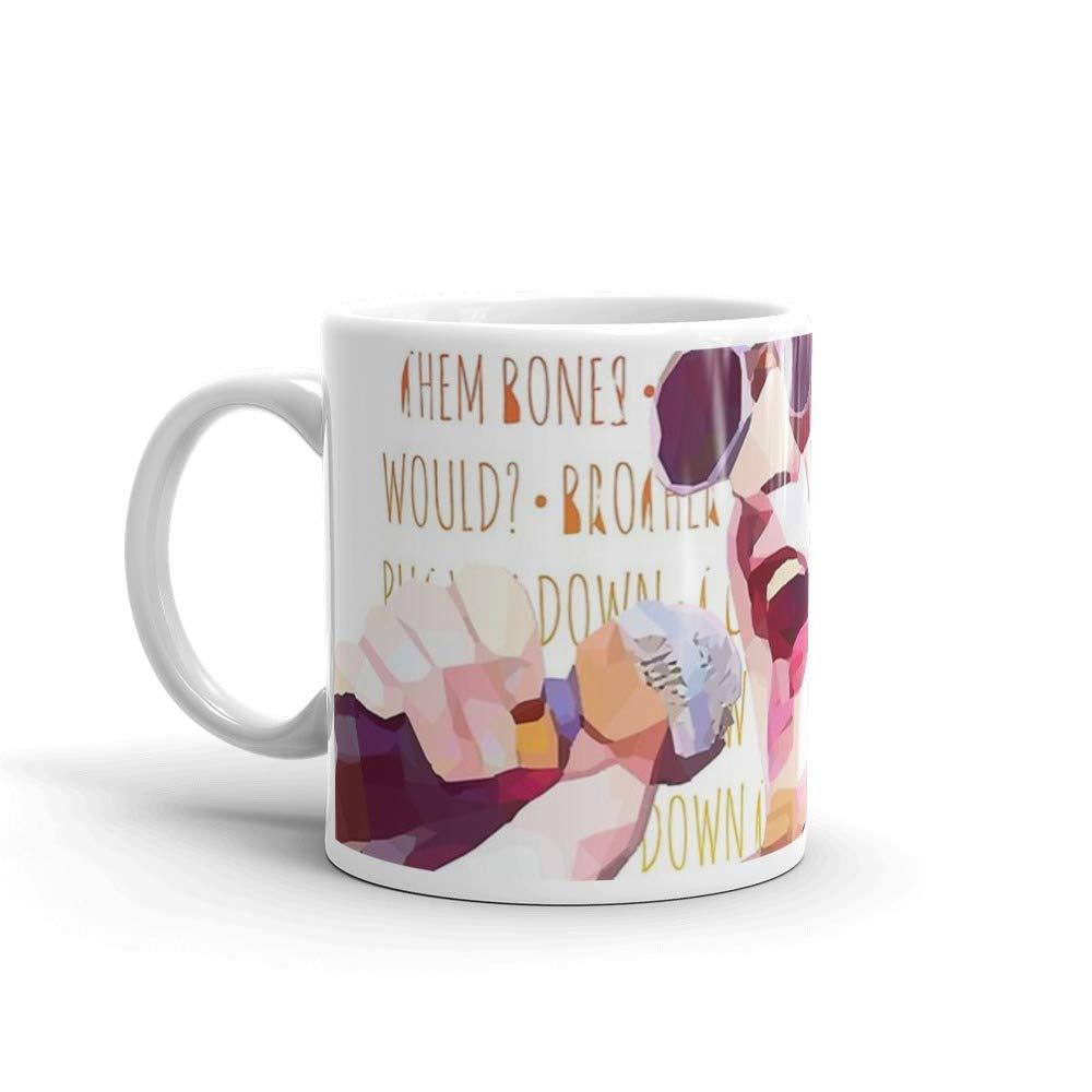 Layne Staley Mug 11 Oz White Ceramic