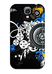 Galaxy S4 Case Slim [ultra Fit] Music Art Protective Case Cover