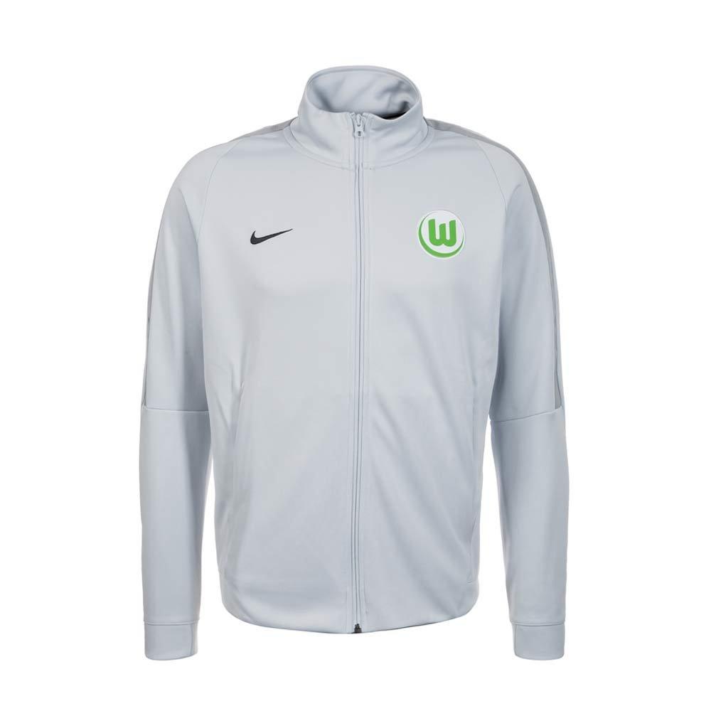 2017-2018 VFL Wolfsburg Nike Authentic Franchise Jacket (Grey) B0744FG61L