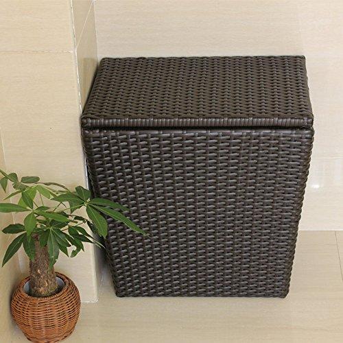 YZL/ Cover prepared rattan hamper/toy box/bathroom/laundry baskets of dirty clothes storage baskets