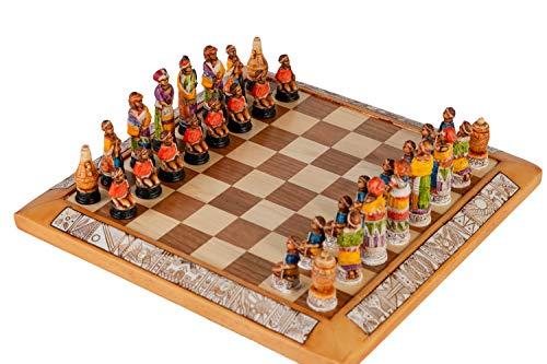 Zentraedi Gala Star Tribal Small Chess Set ()