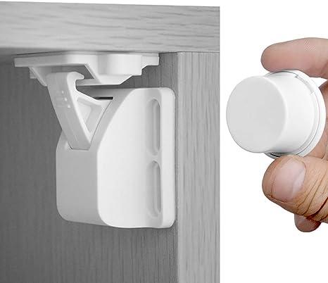 WISDOMLIFE - Cerraduras magnéticas para armario de niños y bebés ...
