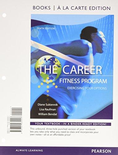 career fitness program edition 10 - 7