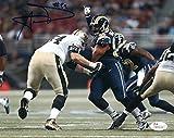 Aaron Donald Autographed St Louis Rams 8x10 Photo JSA