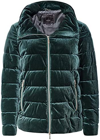 Rango caliente valor  Geox Women's Felyxa Quilted Short Jacket Green UK 10: Amazon.co.uk: Clothing