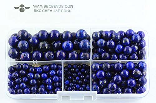 BRCbeads Natural Gemstone Container Included