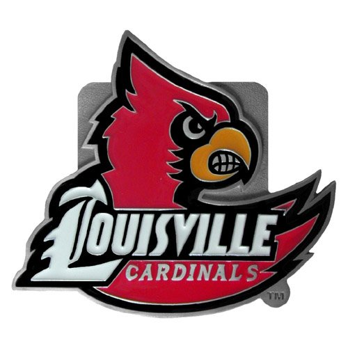 NCAA Louisville Cardinals Logo Hitch Cover Class II & III