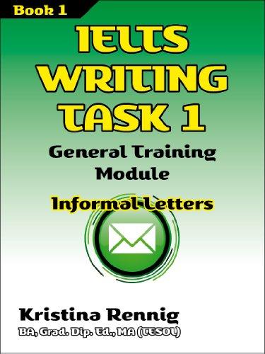 Amazon ielts writing task 1 general training module informal ielts writing task 1 general training module informal letters by rennig kristina spiritdancerdesigns Images