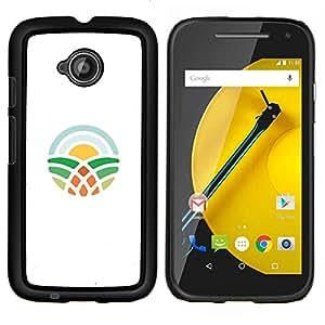 LECELL--Funda protectora / Cubierta / Piel For Motorola Moto E2 E2nd Gen -- símbolo de aprendizaje --