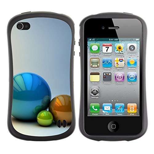 Apple Iphone 4 / 4S [The Three Balls]