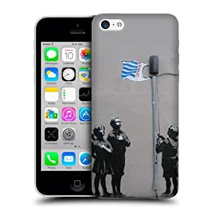 Case Fun Apple iPhone 5C Case - Vogue Version - 3D Full Wrap - Graffiti Tesco Flag Children