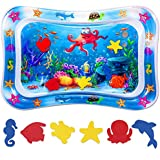 Niskite Baby Toys 0-3 6 Months, Inflatable Tummy Time Water Play Mat for Infant Newborn,Top Babies Boy Girl Gifts for 4 5 7 8 9 12 Old Months