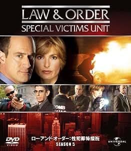 Amazon.com: Law & Order 性犯罪特捜班 シーズン5 バリューパック [DVD]: Movies ...