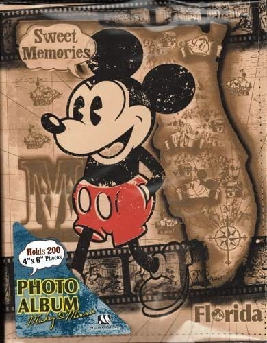 Disney Mickey Mouse and Gang Sweet Memories 200 Picture Photo Album