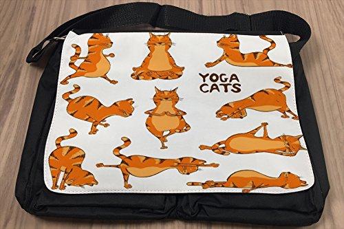 Borsa Tracolla Nostalgico Yoga Stampato