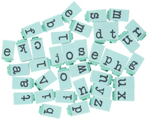 Prima Marketing PPAS-60850  Prima Press Alphabet Stamp Set, 0.25-Inch, Characters (Embossing Scrapbooking Charms)