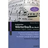 Practical Dictionary of Music, Roberto Braccini, 0320005666