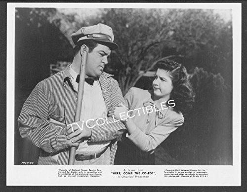 8x10 Photo~ Abbott and Costello Here Come The Co-EDS ~Lou Costello ~Peggy Ryan