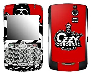MusicSkins, MS-OZZY10006, Ozzy Osbourne - Skullcrown, BlackBerry Curve (8300/8310/8320), Skin
