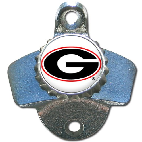 NCAA Georgia Bulldogs Wall Bottle Opener