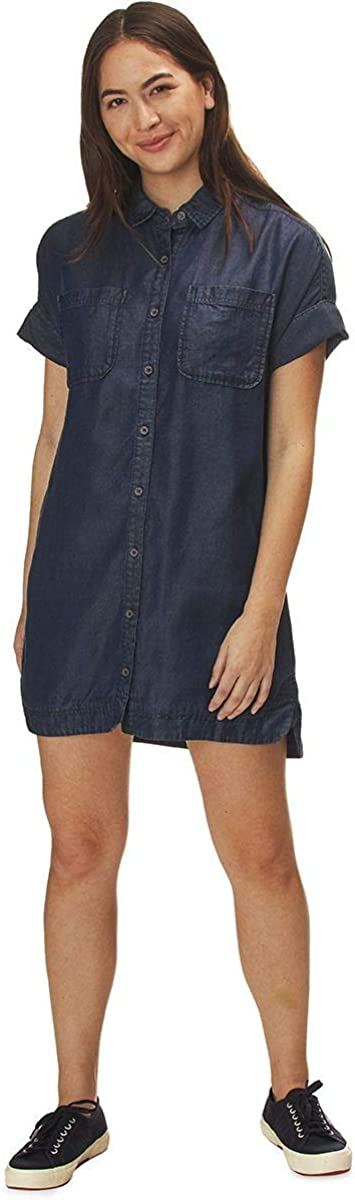 Basin and Range Mirage Chambray Shirt Dress - Women's
