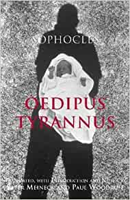 a review of sophocles story oedipus tyrannus Summary having fled corinth because of a fearful prophecy that he would  murder his father  sophocles i: oedipus the king, oedipus at colonus, antigone .