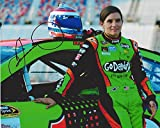AUTOGRAPHED 2016 Danica Patrick #10 GoDaddy Racing PIT ROAD POSE (Stewart-Haas Team) Sprint Cup Series Signed Collectible Picture NASCAR 8X10 Inch Glossy Photo with COA
