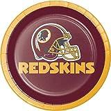 Creative Converting Washington Redskins Dessert Plates, 24 ct