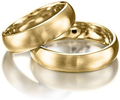 5mm 10K 14K 18K Solid White and Yellow Gold Mens Wedding Rings,Matching Wedding Bands,His /& Hers Wedding Rings Two Tone Gold Wedding Bands