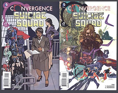 Convergence: Suicide Squad #1-2 Full Set Complete Run NM DC Comics 2015 CBX1Q