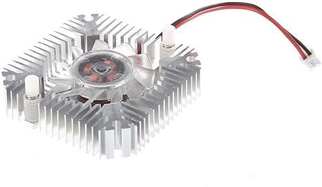 SODIAL(R) Ventilador de Refrigeracion Enfriador Disipador de ...