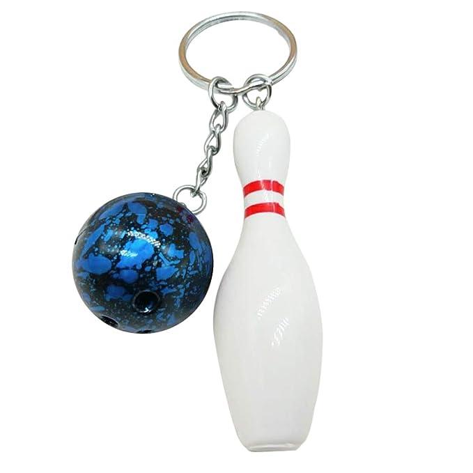 Amazon.com: Llavero con colgante de bola, para colgar en el ...