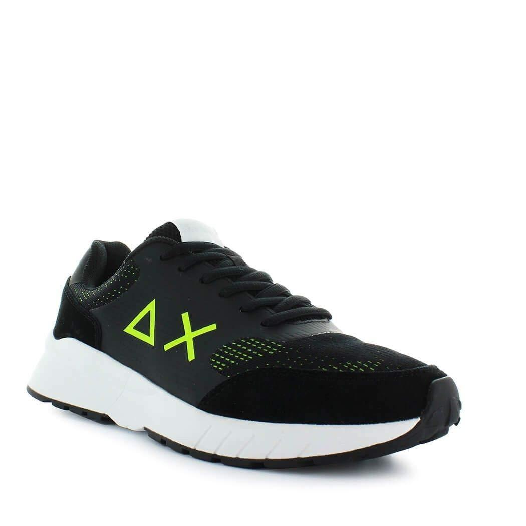 SUN 68 scarpe scarpe scarpe da ginnastica Uomo Z281111163 Pelle Nero 6af100