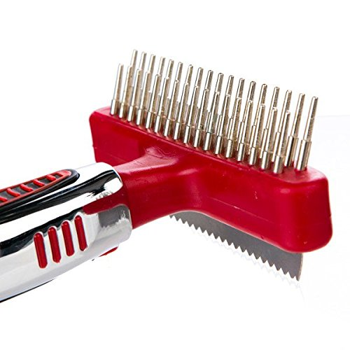 CHI For Dogs Double Sided Shedding Rake And Blade | Best Grooming Tools For Dogs With All Types of Hair
