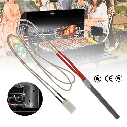 Katoot 2 pcs/Set Replacement Englander Stove Stainless Steel Pellet Igniter for Part Outdoor Home Cooking BBQ Accessories 120V 200/300W (9.5110mm 200W 600L)