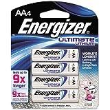 Energizer Ultimate Lithium AA Batteries 4 Ea