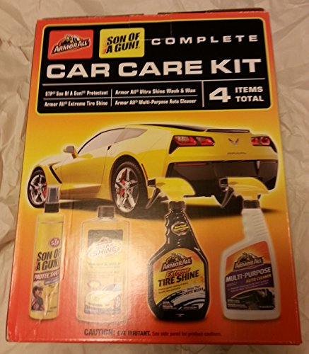 "Armor All ""Son of a Gun!"" 4 Piece Car Care Kit"