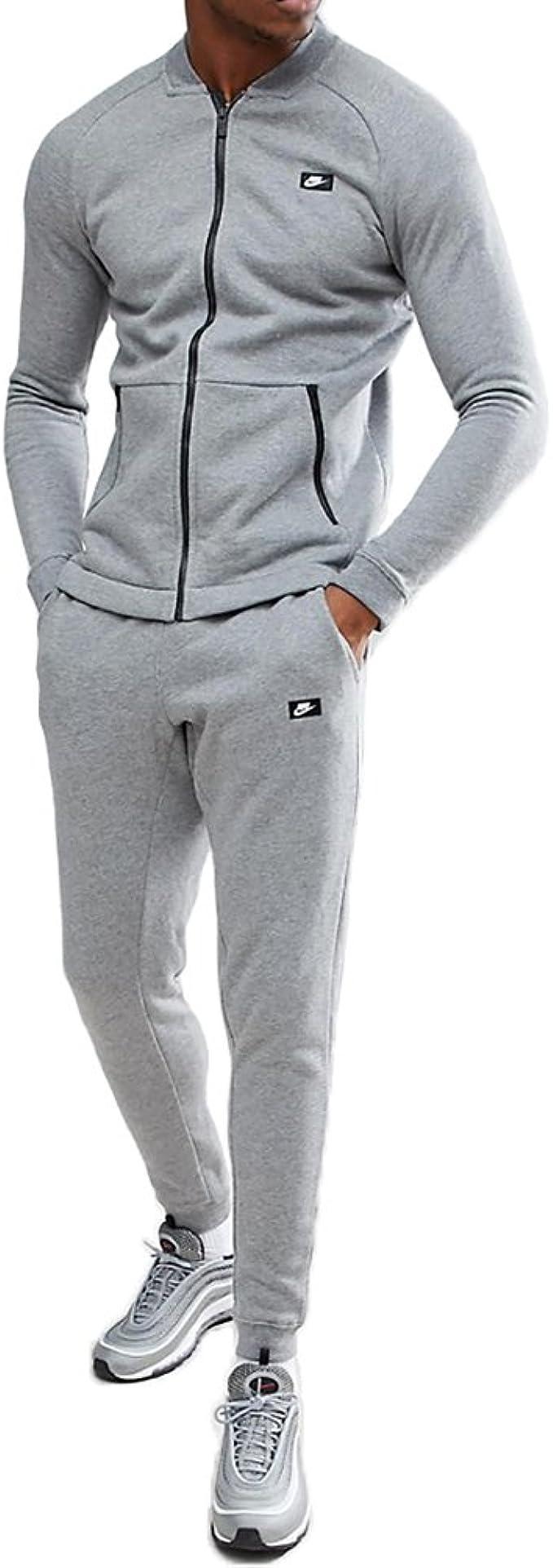 Nike - Chándal - para Hombre Gris L: Amazon.es: Ropa y accesorios