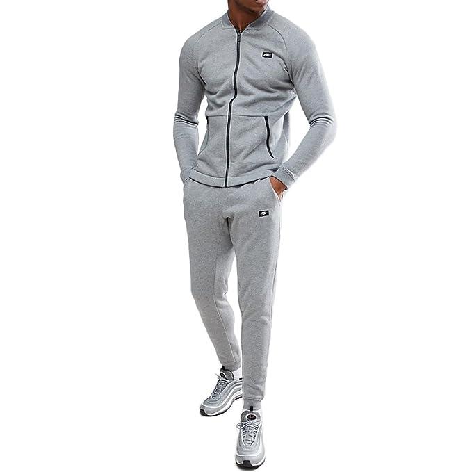 1f2a02c8ef6c5 Nike Tuta Uomo Sportswear Modern Grigia cod 861642-091 (XL)  Amazon.it   Abbigliamento