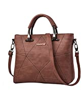 c6463ec602e Nevenka Women Bags Handbag Shoulder Bags Casual Crossbody Bags Purse Totes  For Women (BROWN)
