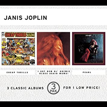 Janis Joplin - 3 Classic Albums: Cheap Thrills / I Got Dem