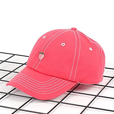 Dylandy Sports Cap Baseball Cap Adjustable Snapback Hat Embroidered Dad Hat Trucker Cap Casual Sun Hat Fruit Pattern for Men and Women