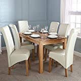 Charter Solid Oak Dining Table (150cm 6 Seater)