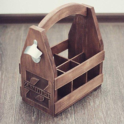 Personalized Wooden 6 pack holder, Beer Holder, Beer Carrier