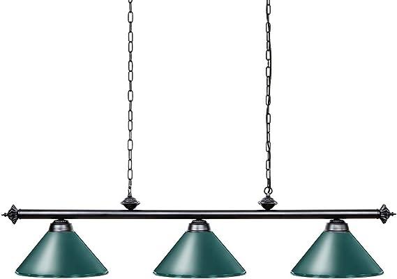 Amazon Com Wellmet Pool Table Light 59 Hanging Billiard Lights Adjustable Kitchen Island Lighting Fixture For Billiard Bar Table Green Home Improvement