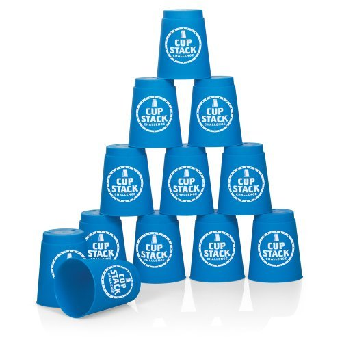 cup stack challenge set of 12 sturdy plastic cups to slip flip