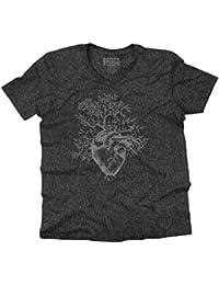Sprouting Heart Shirt   Spirit Animal ZEN Garden Mystic Truth V-Neck T-Shirt